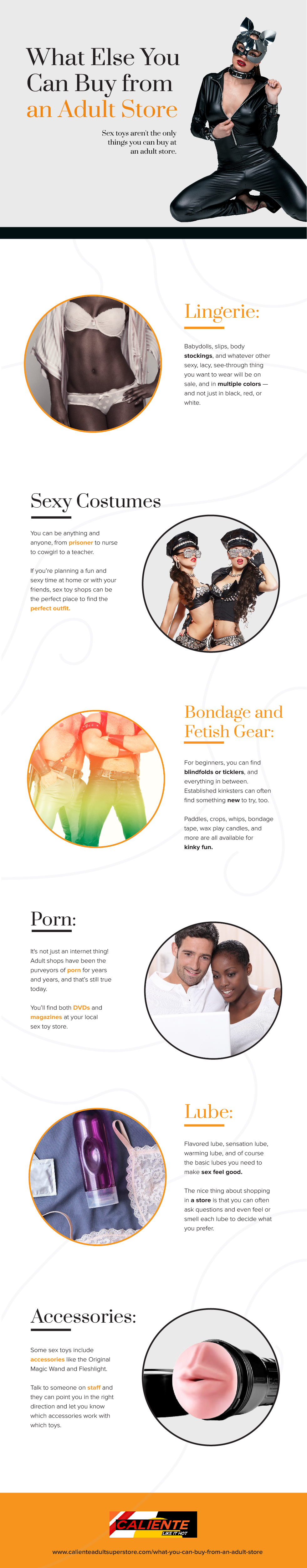 Infographic for What You Can Buy from an Adult Store